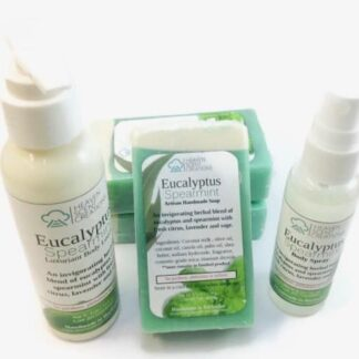 Eucalyptus & Spearmint Bath & Body Set