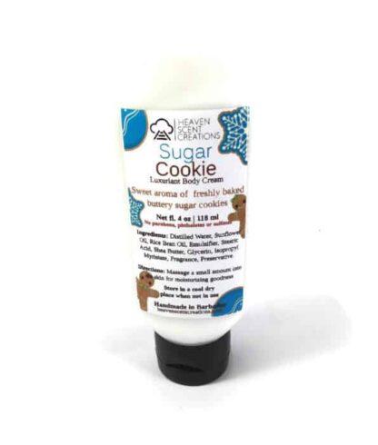 sugar cookie body cream 4 oz