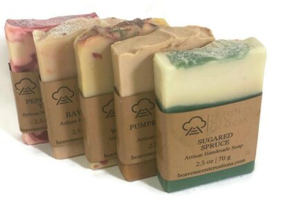 Christmas guest soap 5 pack