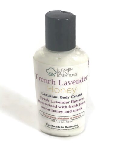 French lavender honey lotion